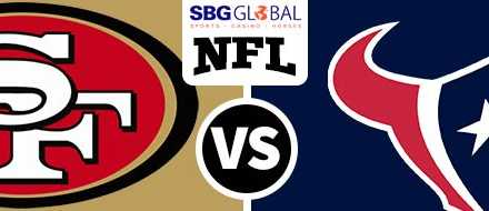 Houston Texans betting favorites againts San Francisco 49ers for NFL Week 14